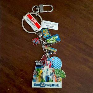 Walt Disney World 2014 Vintage Keychain